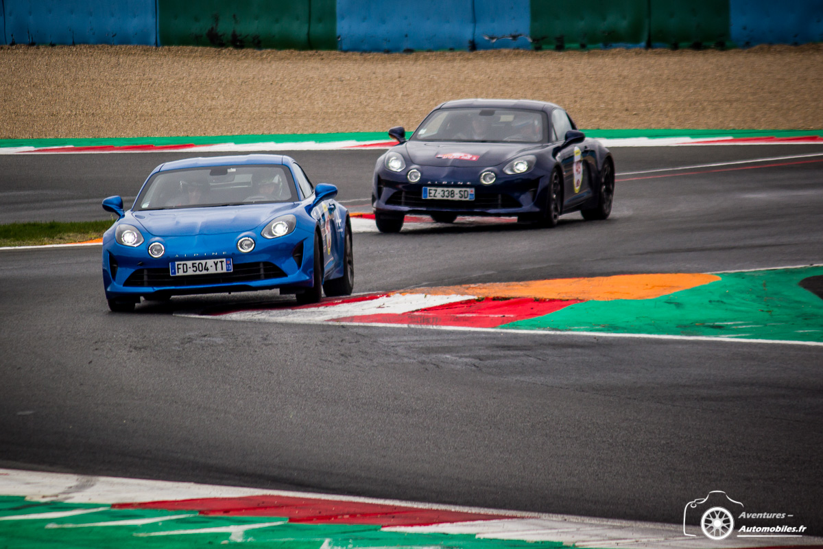 Duo Alpine A110 Magny Cours